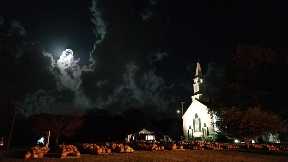 wycc pumpkin patch at night
